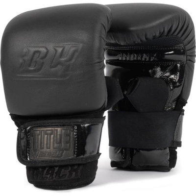 Title Boxing Title Black Pro Bag Gloves - Large