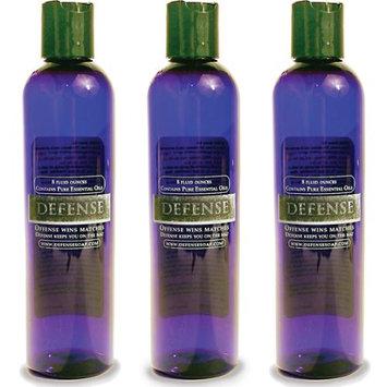 Defense Soap 8 oz. Shower Gel - 3 Pack