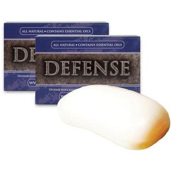 Defense Soap 2-Pack 4 oz. Soap Body Bar