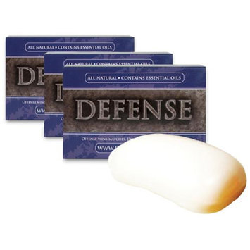 Defense Soap 3-Pack 4 oz. Soap Body Bar