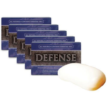 Defense Soap 5-Pack 4 oz. Soap Body Bar