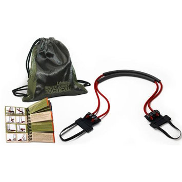 Lifeline USA Tactical Portable Power Jumper with (2) 40 lb Cables and Carry Bag