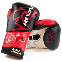 Rival Boxing RFX Custom SF Guerrero Fight Gloves - 8 oz. - Black/Red