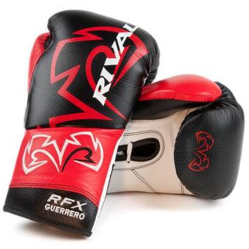 Rival Boxing RFX Custom SF Guerrero Fight Gloves - 8 oz. - Black/Red
