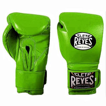 Cleto Reyes Fit Cuff Boxing Training Gloves - Large - Citrus Green
