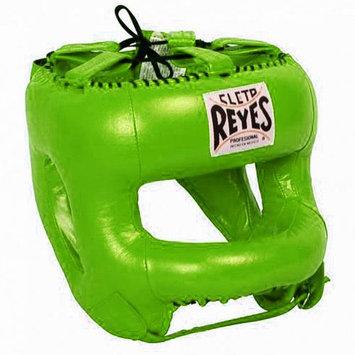 Cleto Reyes Boxing Headgear with Nylon Face Bar - Citrus Green