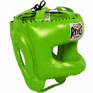 Cleto Reyes Traditional Headgear with Nylon Face Bar - Citrus Green