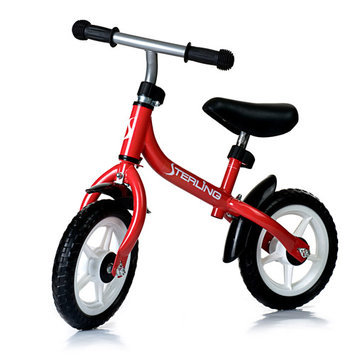 Wonka Woo Toys 4334RD 10 in. Balance Bike in Red