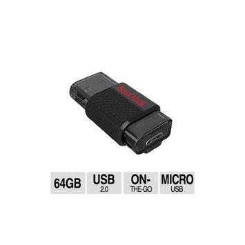 SanDisk Ultra 64GB Dual Flash Drive.