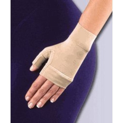 Jobst Women's 20-30 mmHg Gauntlet Size: Large, Color: Brown
