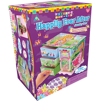 Orb Factory Sticky Mosaics Kit Jewelry Box