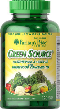 Puritan's Pride 2 Units of Green Source Multivitamin & Minerals