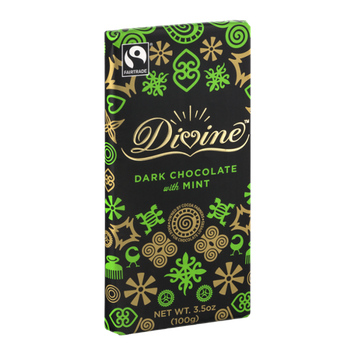 Divine Dark Chocolate with Mint