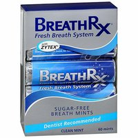 Breath Rx Clean Mint Sugar-Free Breath Mints