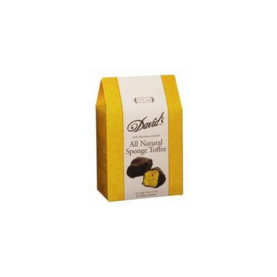 Davids Chocolate Toffee Sponge Dark Chocolate 4.9 Oz - Pack of 12 - SPu1131598