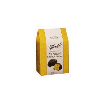 Davids Chocolate Toffee Sponge Dark Chocolate 4.9 Oz - Pack of 12 - SPu1131598