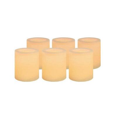 Northern International Inc Inglow Votives Set of 6 - Cream (1.93