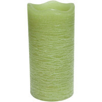 Inglow Citrus Sage 3 x 6 Flameless LED Rustic Pillar Candle