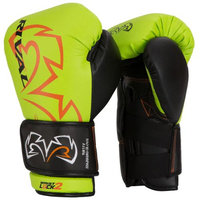 Rival Boxing Evolution Sparring Gloves - 16 oz. - Lime Green