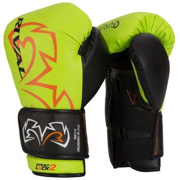 Rival Boxing Evolution Sparring Gloves - 16 oz. - Lime Green