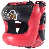 Rival Boxing Guerrero Facesaver Headgear - L/XL - Red/Black