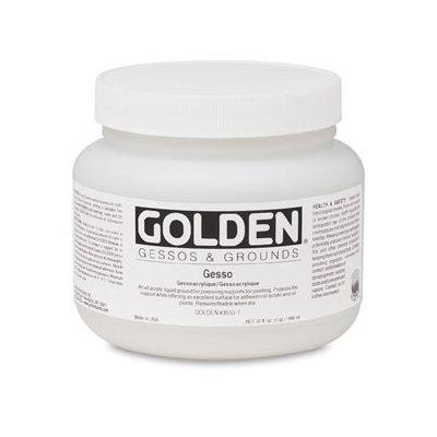 Golden 0003550-6 16oz. - 473ml - Traditional Gesso Jar - White