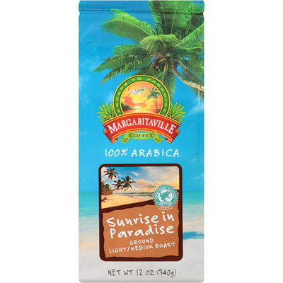 Margaritaville Sunrise in Paradise Light/Medium Roast Ground Coffee, 12 oz