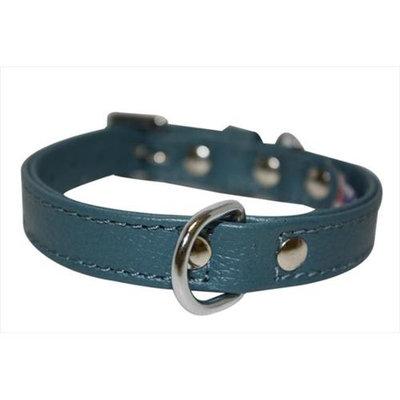 Thierry Mugler Angel Pet Supplies 40995 Alpine Plain Dog Collar in Ocean Blue