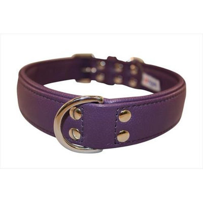 Thierry Mugler Angel Pet Supplies 41056 Alpine Plain Dog Collar in Orchid Purple