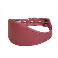 Thierry Mugler Angel Pet Supplies 41411 Hound Plain Dog Collar in Bubblegum Pink