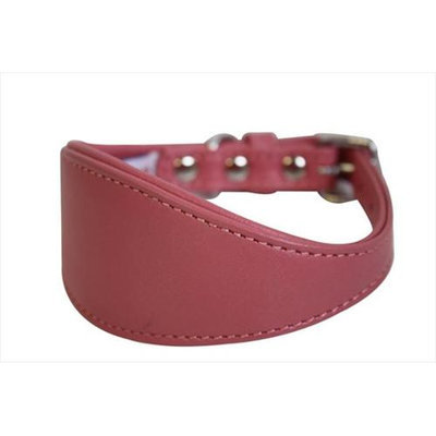 Thierry Mugler Angel Pet Supplies 41411 Hound Plain Dog Collar in Bubblegum Pink