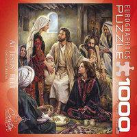 Eurographics At Jesus Feet 1000 Piece Puzzle