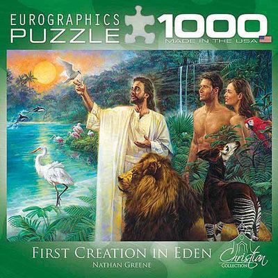 Eurographics Creation in Eden 1000 Piece Puzzle