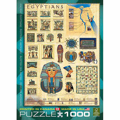 EuroGraphics 6000-0083 Egyptians Puzzle