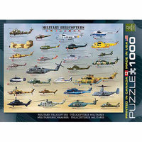 EuroGraphics Puzzles 6000-0088 Military Helicopters