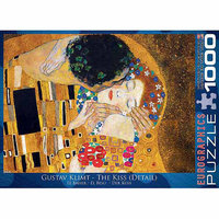EuroGraphics 6000-0142 Klimt - The Kiss - det 2