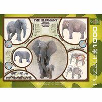 EuroGraphics 6000-0241 The Elephant Jigsaw Puzzle