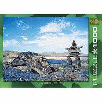 EuroGraphics 6000-0242 Inukshuk Landscape 2 Jigsaw Puzzle