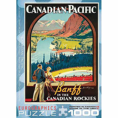 EuroGraphics 6000-0327 CP - In the Canadian Rockies