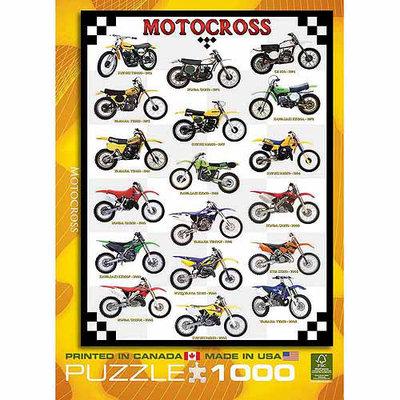 EuroGraphics Puzzles 6000-1020 Motocross