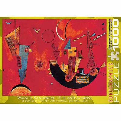EuroGraphics 6000-1495 Kandinsky - Mit und Gegen