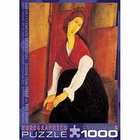 EuroGraphics 6000-1501 Modigliani-Jeanne Hebutern Red