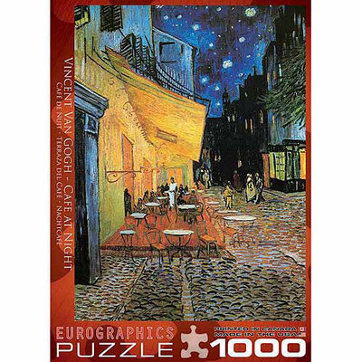 EuroGraphics Van Gogh's Cafe at Night (1000 pc)