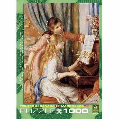 EuroGraphics Puzzles 6000-2215 Renoir Girls at Piano