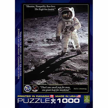 EuroGraphics Puzzles 6000-4953 Walk on the Moon