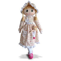 NuLife Matters NL 06 021 Marie Anne 2 In 1 Pocket Doll - Pink Delight