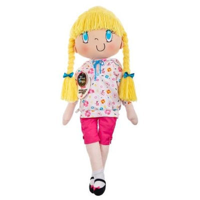 My Friend Huggles HG 06 303 Mia 34 In. Soft Doll - Original Collection