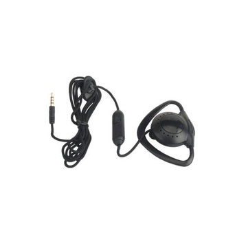 zCover 3.5mm Ear Phone - Mono - Black - Mini-phone - Wired - Over-the-ear