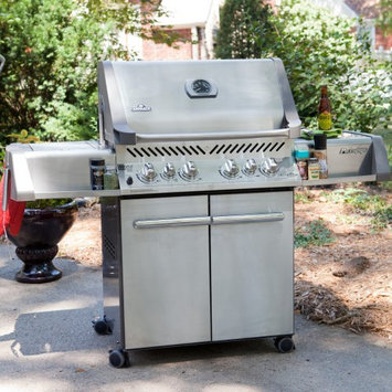 Napoleon Prestige P500RSIB Grill with Rear Side Infrared Burner and