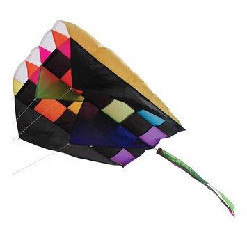 Premier Kites & Designs Premier Kites Parafoil 5, Rainbow Tecmo, 20 x 32